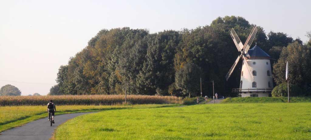 Gohliser-Windmühle-mit-Radfahrern-am-Elberadweg-c-AugustusTours