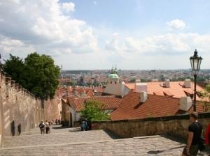Blick auf Prag von der Prager Burg (c) AugustusTours