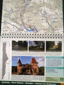 Kartenmaterial zum Elberadweg (c) ELBERADWEG