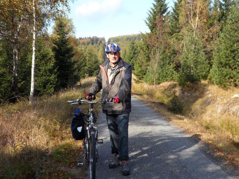 ... und schon kann die Fahrradfahrt weitergehen.
