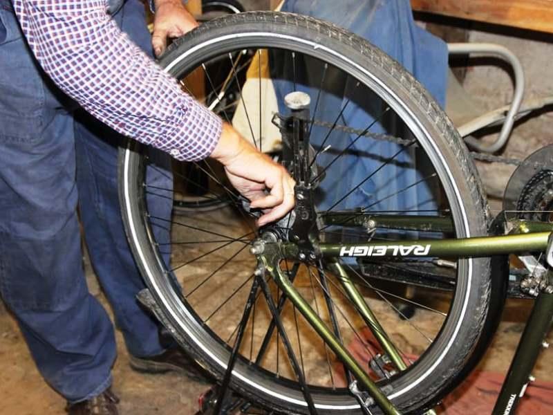 Schlauch wechseln nach Reifenpanne