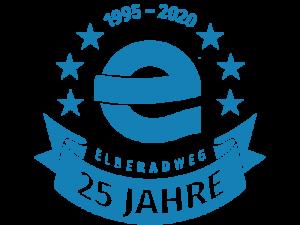 Logo zu 25 Jahre Elberadweg (c) elberadweg.de