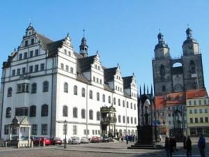 Marktplatz in Lutherstadt Wittenberg ( c) AugustusTours