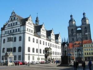 Marktplatz der Lutherstadt Wittenberg (c) AugustusTours