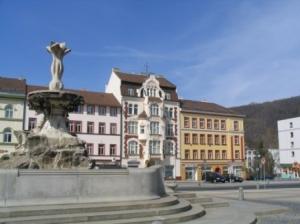 Marktplatz von Decin am Elberadweg (C) AugustusTours