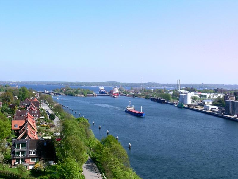 Nordostseekanal-Schleuse in Kiel-Holtenau © Landeshauptstadt Kiel - Bodo Quante
