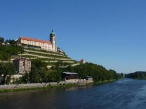 Schloss Melník am Elberadweg