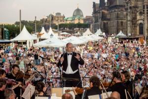 Konzertveranstaltung zum Dresdner Stadtfest (C) Michael Schmidt