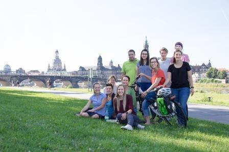 Das Team von AugustusTours aktiv reisen (c) Denise Arlt Photography