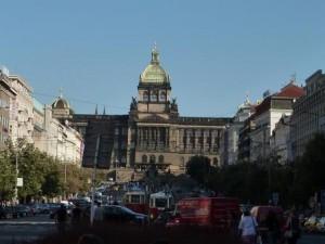Wenzelsplatz in Prag (c) AugustusTours