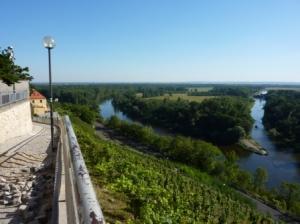 Zusammenfluss von Moldau und Elbe (c) AugustusTours